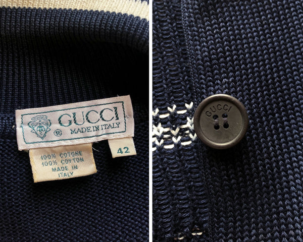 Gucci Sailboat Cardigan