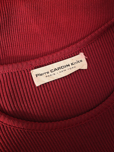 70's Pierre Cardin Ribbed knit