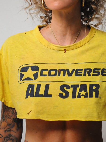 Converse Cropped T-shirt