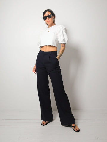 Navy Ralph Lauren Trousers