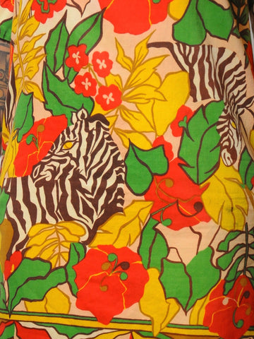 Janis Jungle Print Dress
