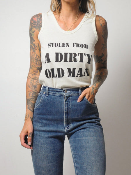 70's 'Dirty Old Man' Soft Tank