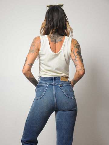 "70's High waist Faded Lee Jeans 28""-31"""