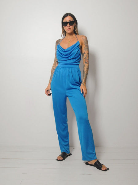 70's Tavi Open Back Jumpsuit