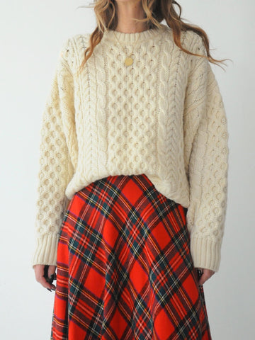 Oversized British Fisherman's Sweater
