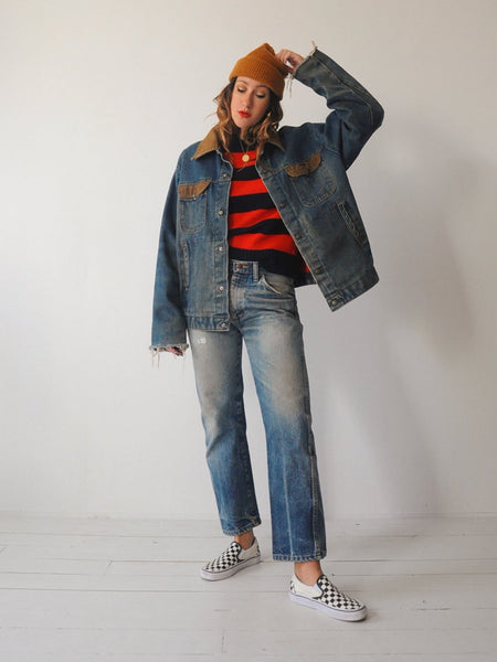 70's Faded Key Jean Jacket