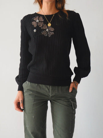 Valentino Cut Out Sweater