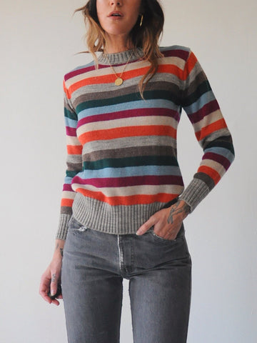 Penelope Striped Sweater