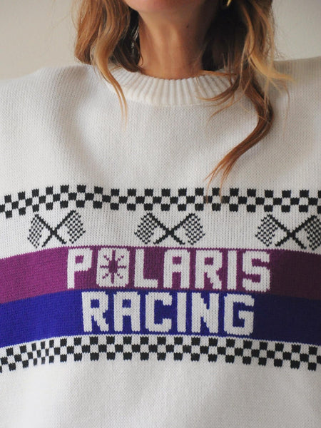 Oversized Polaris Racing Sweater
