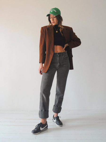 Gingerbread Wool Blazer