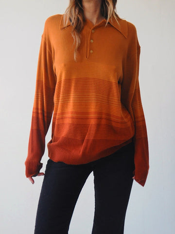 70's Ombre Stripe sweater
