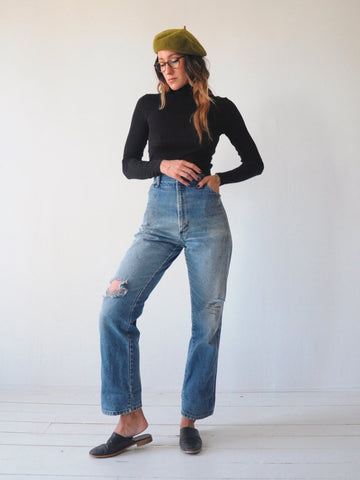 Faded Plus Size Rustler Jeans 34x30.5