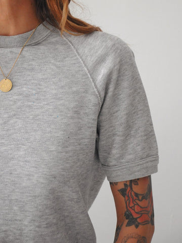 Heathered Gray Sweatshirt