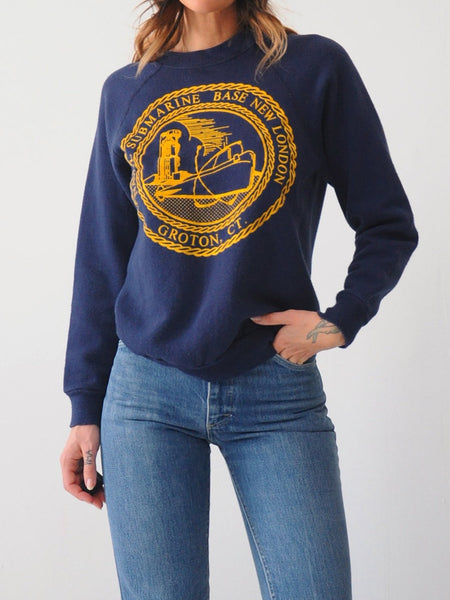 Navy Submarine Sweatshirt