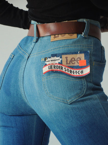 70's Deadstock Lee Jeans 27x36
