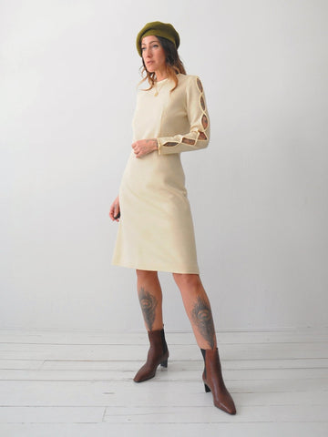 60's Parker Cut Out Dress