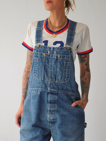 70's Painted Big Smith Overalls