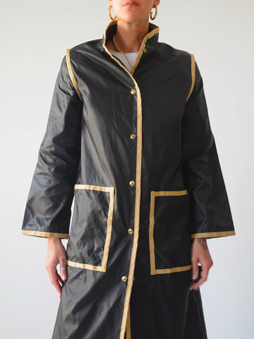 60's Packable Raincoat