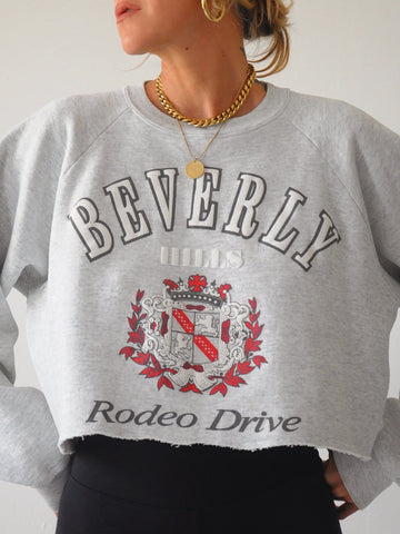Cropped Rodeo Drive Sweatshirt