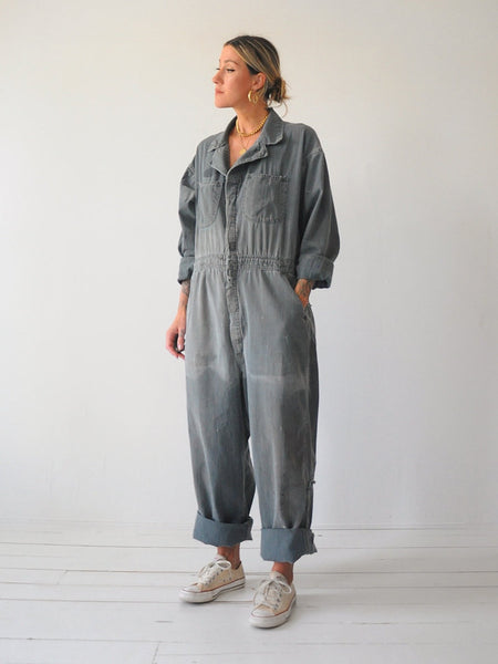 50's Red Kap Herringbone Coveralls