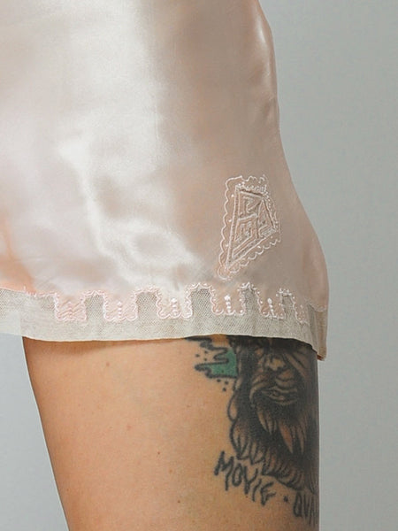 40's Embroidered Tap Shorts