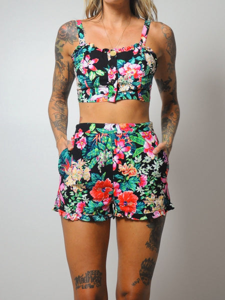 Tropical Floral Matching Set