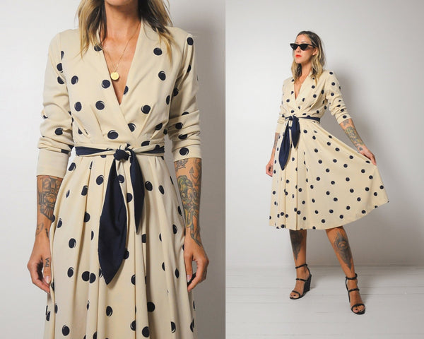 Simon Dotted Shirt Dress