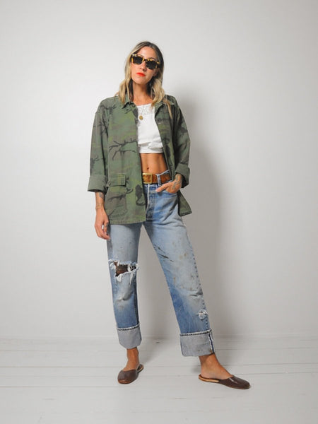 Soft Cotton Camouflage Jacket
