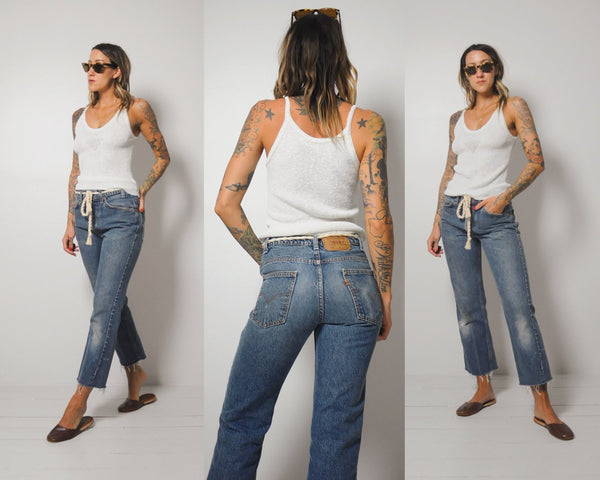 Faded Levi's 517 Jeans 30x27
