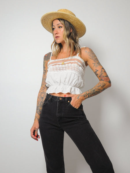 Charlemagne Lace Tank