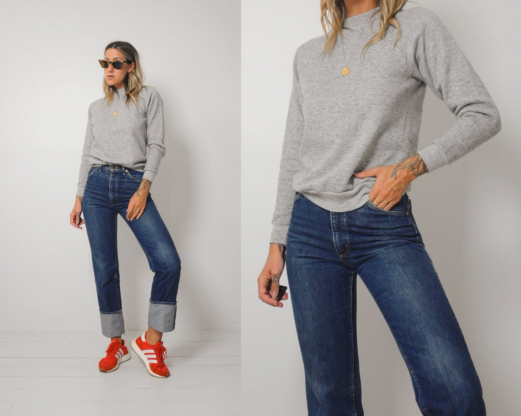 Soft Heather Gray Sweatshirt
