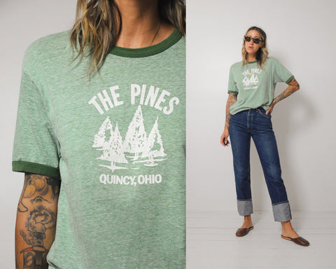 70's The Pines Ringer Tee