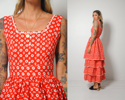 60's Maxine Floral Sundress