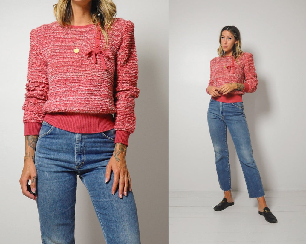 70's Sonia Rykiel Bow sweater
