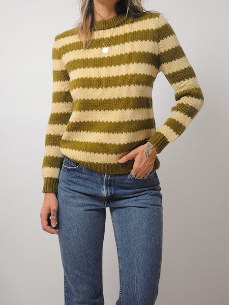 70's Emma Striped Sweater