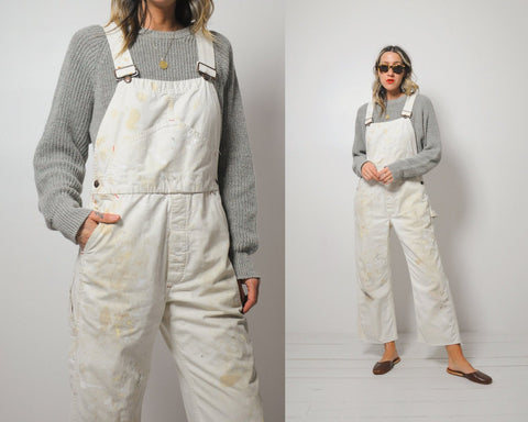 Ivory Big Mac Painter Overalls