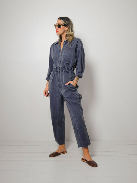 Dark denim Flight Jumpsuit