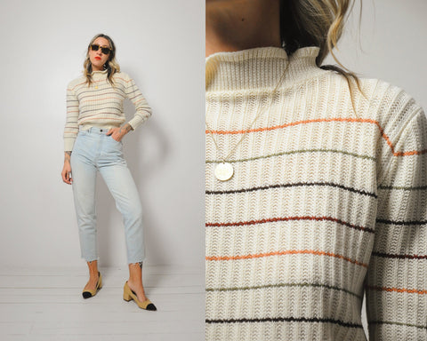 70's Juliette Striped sweater