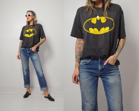 Thin & Faded Batman T-shirt