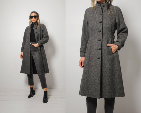 Wool Tweed Daphne Coat
