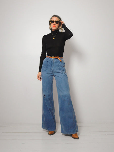 70's Seaside Bellbottom Jeans