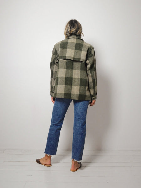 Woolrich Plaid Wool Jacket