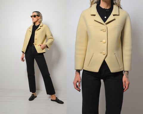 Bill Blass Structured Wool Blazer