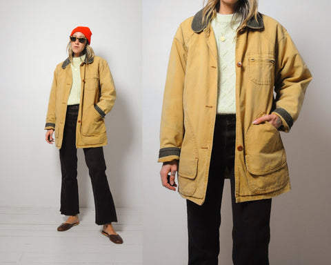 LLBean Canvas Field Coat