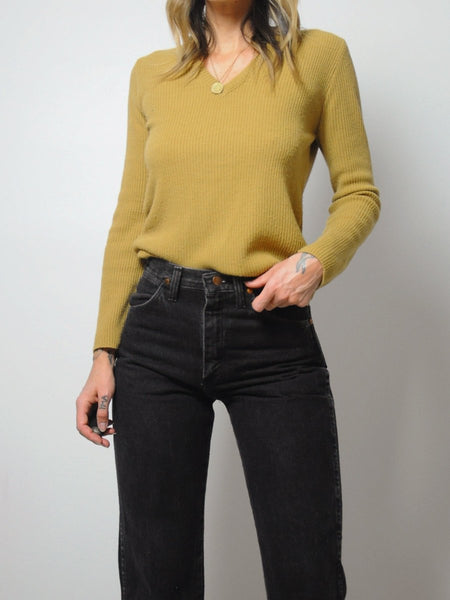 70's Caitlin Camel Sweater