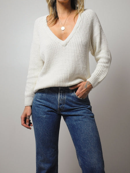 Ivory Hygge Sweater