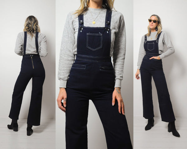 70's Paige Flared Overalls
