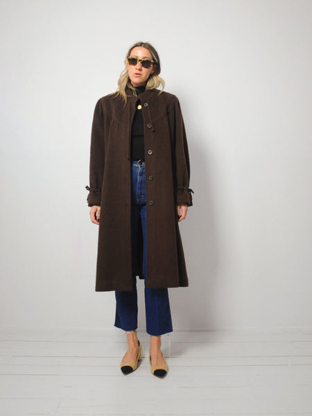 70's Coco Wool Swing Coat