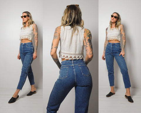 High rise 90's Jeans 25x27