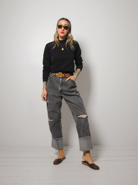 Levi's Faded Charcoal Jeans 34x32.5